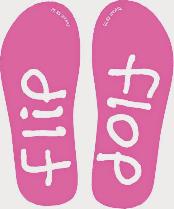 4ca14638a If ever a shoe got a name from the noise it made then the flip flop is  without doubt onomatopoeic. Part of the fun of wearing them is the sound  they make ...