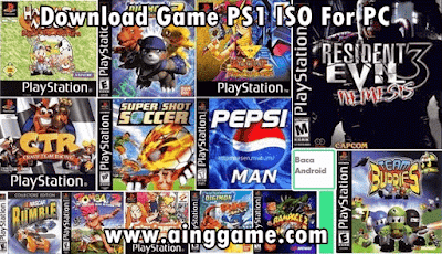 Download Game PS1 ISO For PC