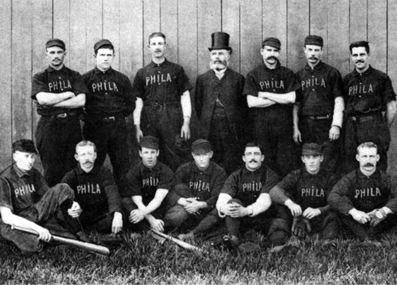 1888 Philadelphia Baseball Phillies