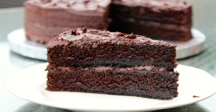 Super Good Chocolate Cake, Without Butter, Sugar And Flour
