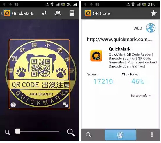 top 5 best barcode and qr code scanner apps for android tech viola. Black Bedroom Furniture Sets. Home Design Ideas