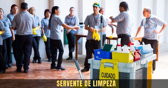 servente de limpeza - cic