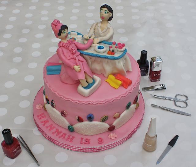 Nail Cake: -: NAIL SPA CAKE