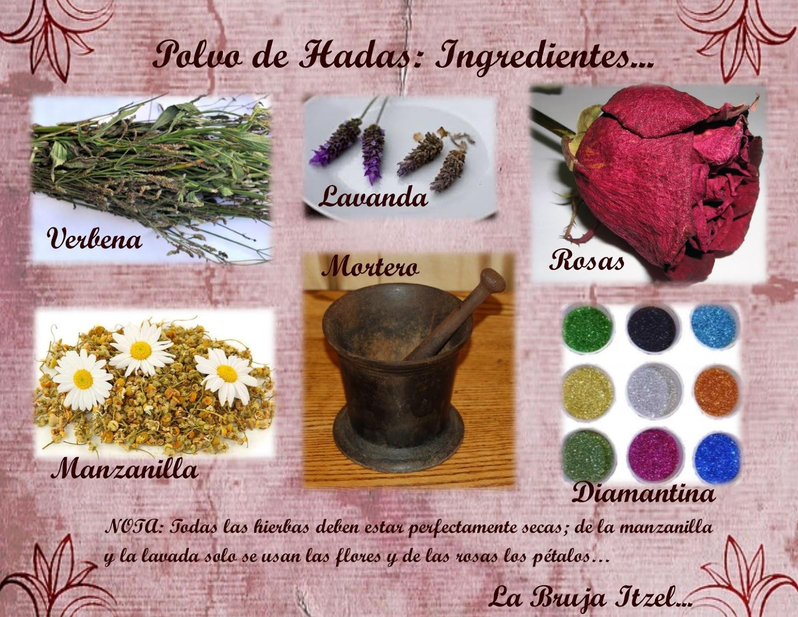 La Bruja Itzel: Polvo de Hadas...