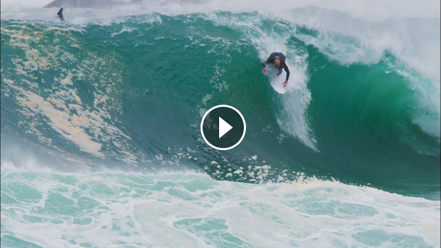 Kelly Slater Tackles one of Sydney s Weirdest Slabs