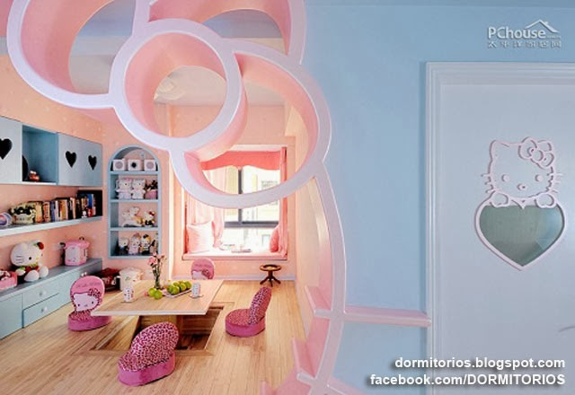 DORMITORIO HELLO KITTY