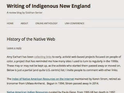 History of the Native Web