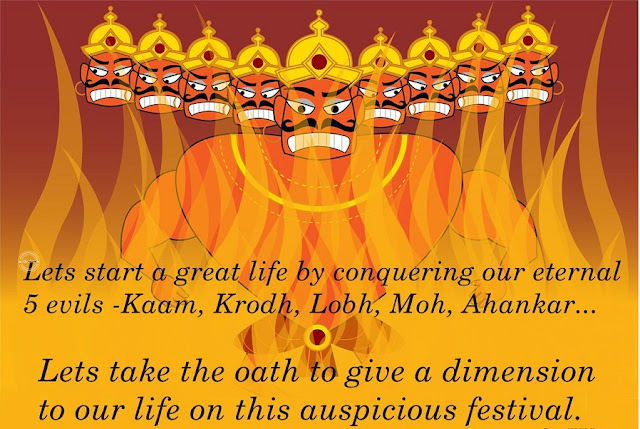 Happy Dussehra Status Wishes for Facebook, Whatsapp