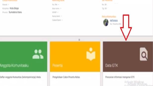 klik data gtk