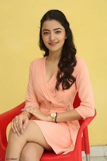 Rukshar Mir in a Peachy Deep Neck Short Dress 067.JPG