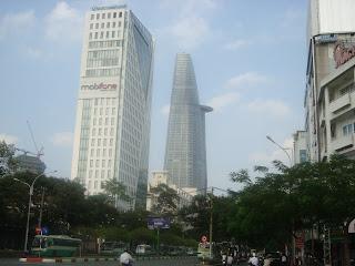 Grattacieli di Ho Chi Minh City (Saigon), Vietnam