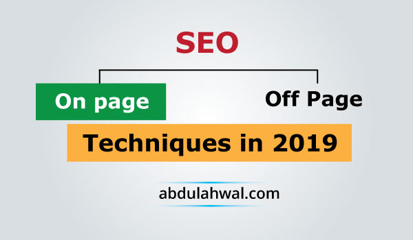 on page seo techniques 2019