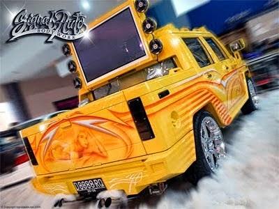 modifikasi mobil isuzu panther