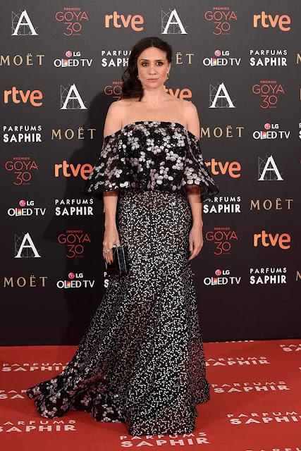 Alfombra roja de los Goya 2016