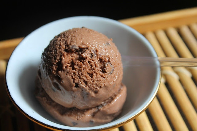 Chocolate Chip Icecream Recipe – Eggless Recipe