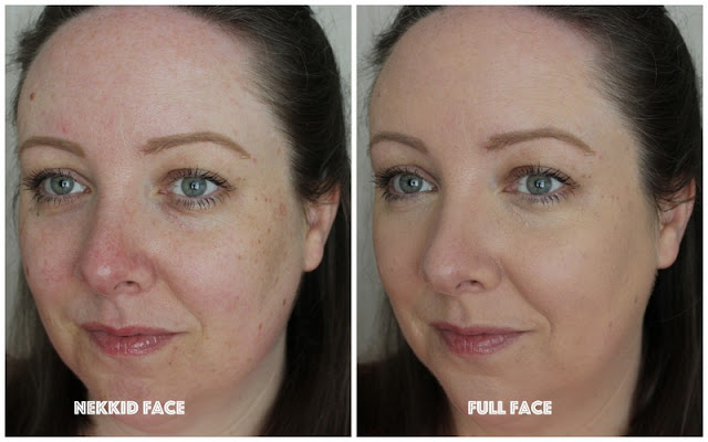 Before & After Clinique Beyond Perfecting Foundation & Concealer