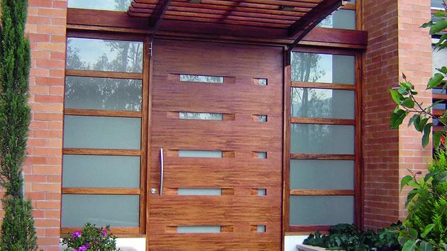 Puertas de madera - Puertas de madera exteriores ...