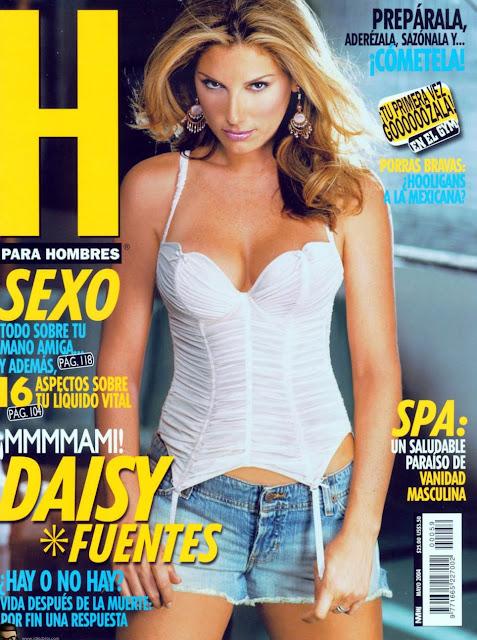 Daisy Fuentes Revista H Mayo 2004