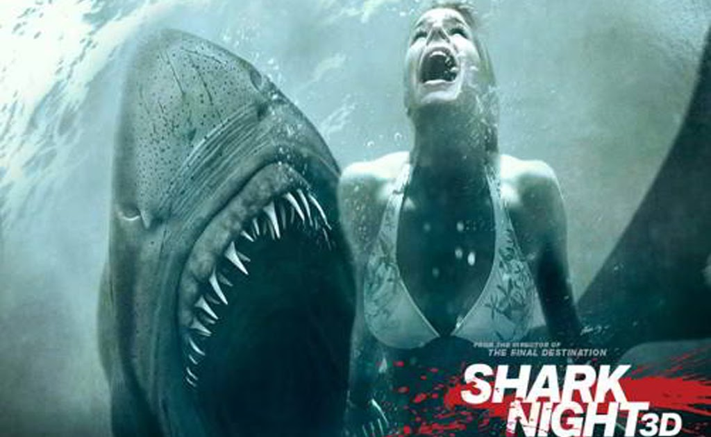 I Letter 3d Wallpapers Hollywood Wallpapers Shark Night 3d Movie Wallpapers