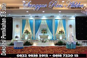 Gambar Dekorasi Pernikahan & rias Pengantin 3,5 Juta