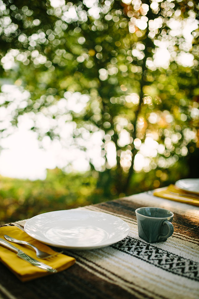 Picnic breakfast - Photography by Jessica Holleque
