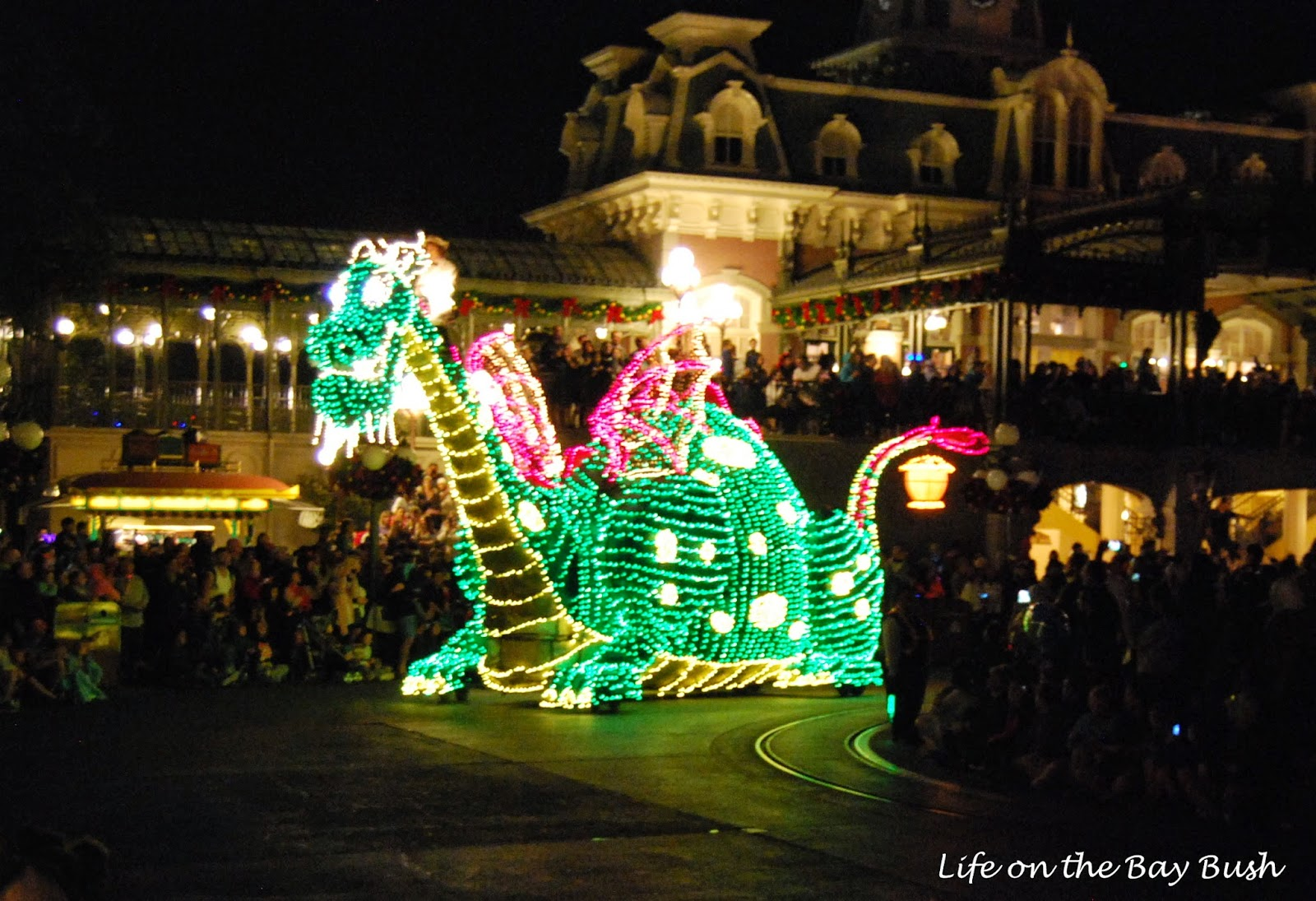 Dino Electrical Light Parade at the Magic Kingdom