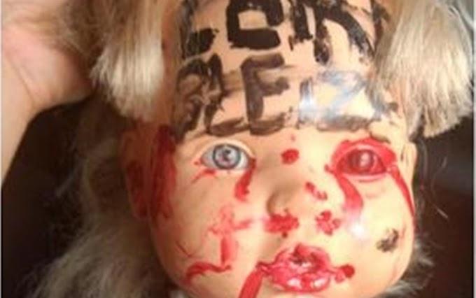 Polícia investiga ameaça feita com cabeça de boneca a tenente da PM