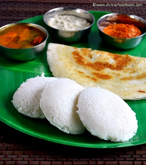 Idli Recipe With Idli Rice - How to Make Soft Idli Batter ...