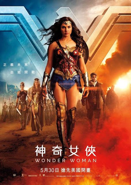 Wonder Woman (2017) English Movie Full HDRip 720p Download