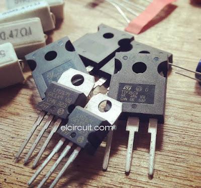 LM317 TIP36C