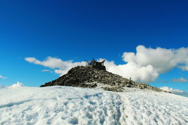 Galdhöpiggen (Galdhøpiggen) ligger i Jotunheimen nationalpark i Norge.