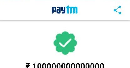 How to fack payment with paytm