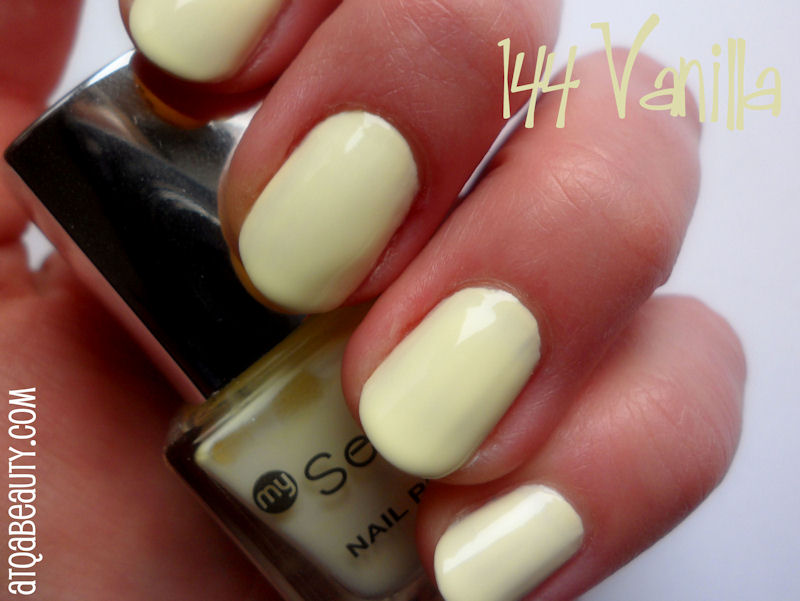 Paznokcie :: Wiosna zimą <br>– My Secret 144 Vanilla, 145 Fuchsia, 147 Lavender