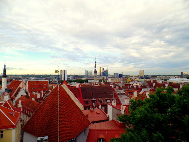 Vanalinn rooftops roof estonia Tallinn Tallin tejados