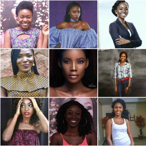 Contestants-for-Miss-Nigeria-2017