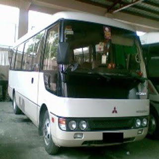 Mitsubishi Mini Bus Coaster For Rent in Cebu (Cebu Rent A Coaster)