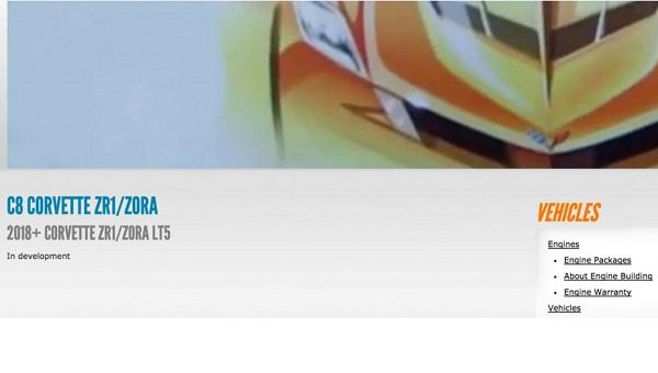 El Corvette de octava generación tendrá motor central
