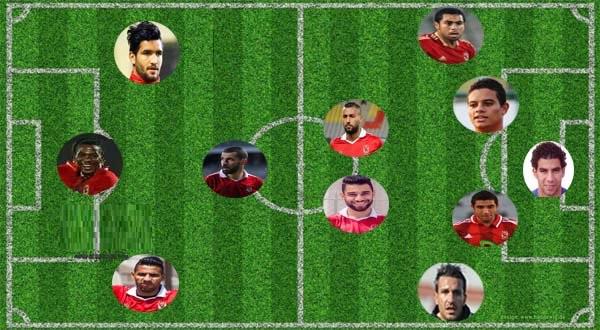 تشكيلة الاهلي امام الزمالك اليوم الاثنين 17-7-2017 في قمة الدوري المصري