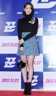 Elegant Yoona At The Premiere Of The Swindlers!