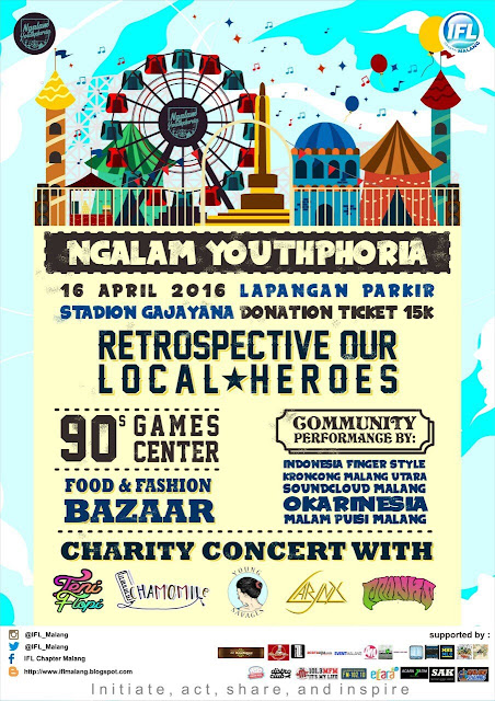 "NGALAM YOUTHPHORIA ""Retrospective Our Local Heroes"""