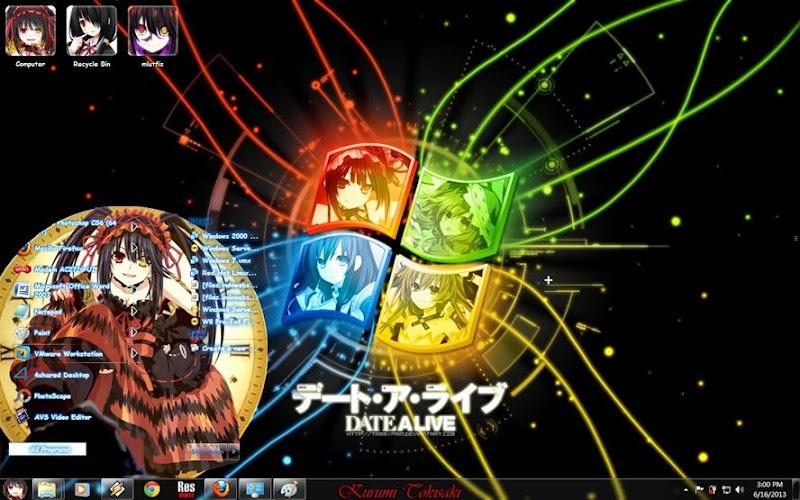 theme windows 7 anime 18 dating game