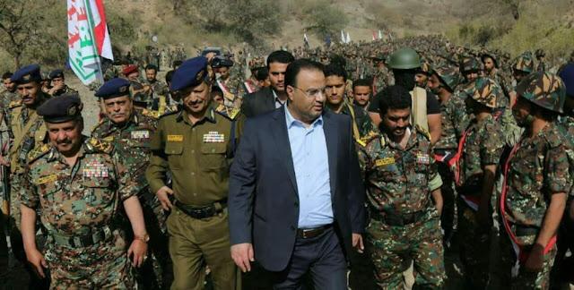 شاهد بالصوره اكبر حشد عسكري لجماعة الحوثي