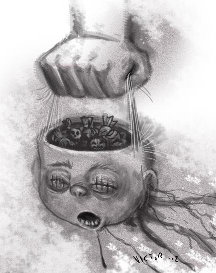 Easy Scary Halloween Drawings : scary, halloween, drawings, Creepy, Scary, Halloween, Drawings, HexoPict, Ideas