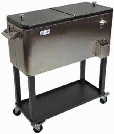 patio cooler: patio cooler cart