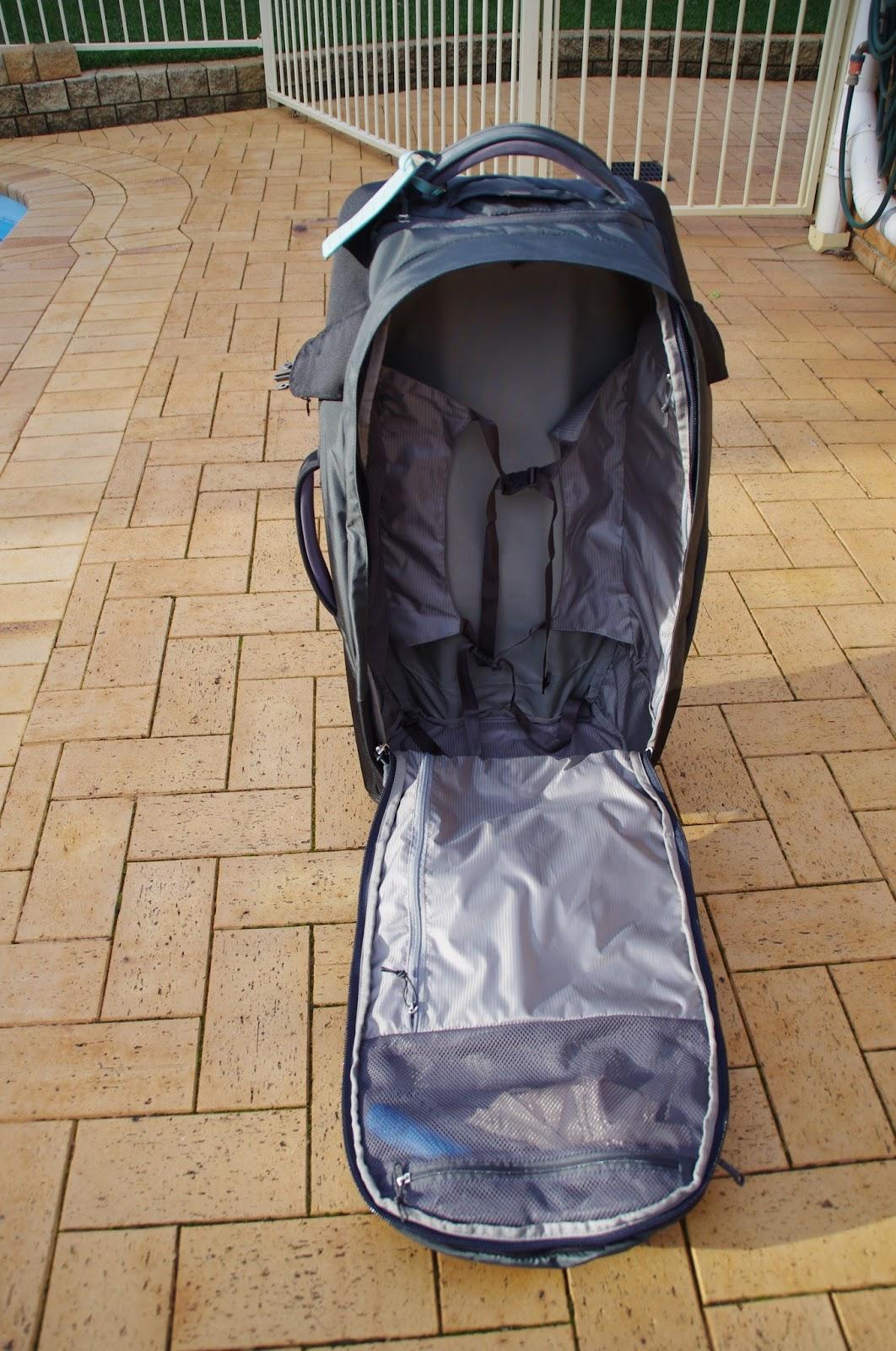 Osprey Meridian 75 Luggage Interior