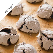 Chewy Chocolate Meringues by Williams Sonoma