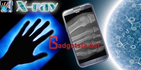 Aplikasi Kamera Tembus Pandang - Human X-Ray Scanner