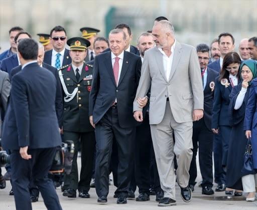 Rama, a special guest into Erdogan's car during Osmangazi bridge inauguration (Video)