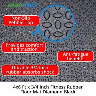 Greatmats budget rubber mats