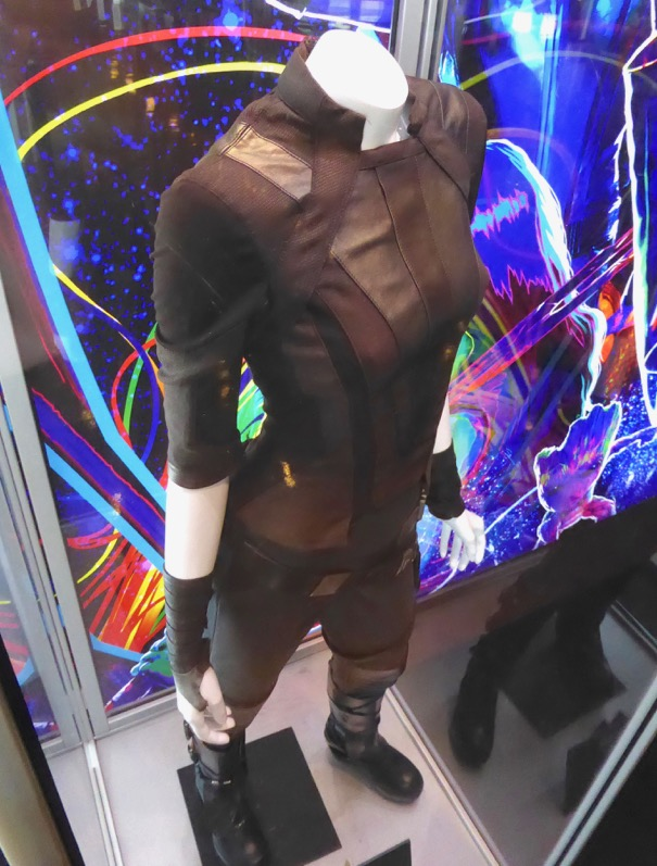 Guardians of the Galaxy 2 Gamora costume